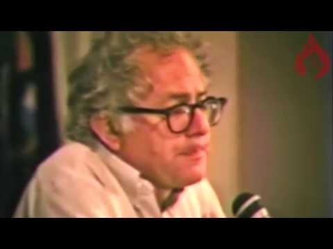 Noam Chomsky Lecture with introduction by Bernie Sanders
