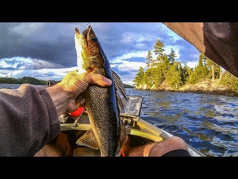 Walleye Fishing The BWCA - Brule Lake