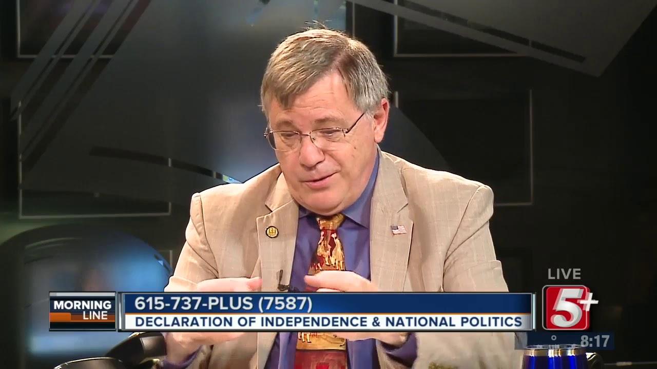 MorningLine: Declaration of Independence & National Politics P.2