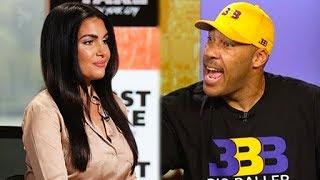 """LaVar Ball Banned from ESPN for """"Inappropriate"""" Joke Towards Female Host"""