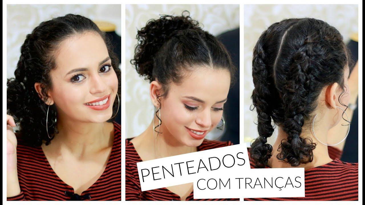 3 Penteados Com Tranças Boxeadora Cacheado Curto Por Nanda Soares