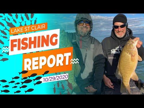 Lake St. Clair Fishing Report 10/29/20