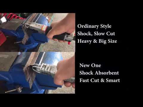 Vibration Reduce Vibration Damped Air Saw Comparison