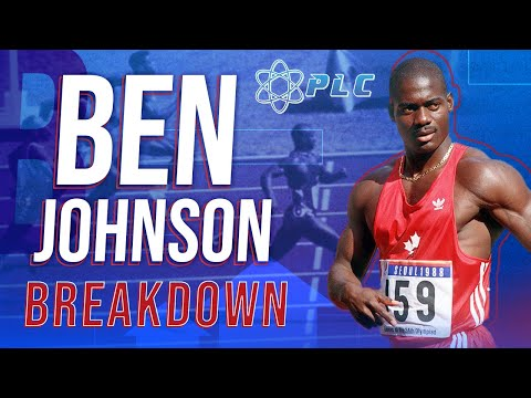 Ben Johnson 100 Meter Speed Breakdown | Performance Lab of C
