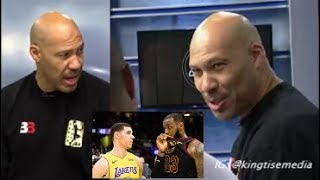 LaVar Ball Says LeBron James Can't Teach Lonzo Ball & Lakers Are LONZO Team NOT LeBron's