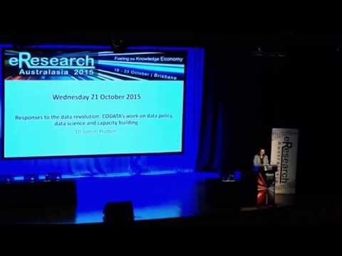 eResearch Australasia 2015 Keynote Dr Simon Hodson