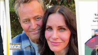 Is Matthew Perry In Love With Courteney Cox? | Celebrity Page