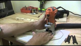 """shalom Star Carving""  Part 7 Of 11  Cutting Plan And Sharpening Router Bits"