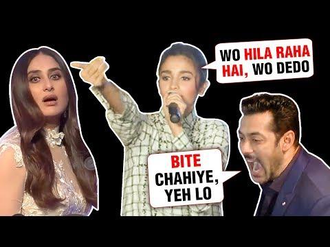Alia Bhatt Kareena Kapoor Shahid HILARIOUS Moments CAUGHT On Camera
