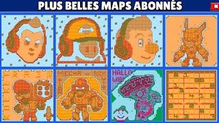 D-I-N-G-U-E-R-I-E! 24 PLUS BELLES MAPS des ABONNÉS BRAWL STARS CRÉATIF!