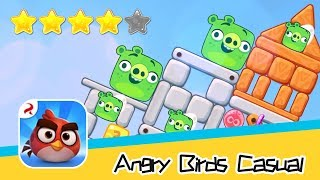 Angry Birds Casual Level 60-61 Walkthrough Sling birds to solve puzzles! Recommend index four stars