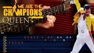 Baixar We Are The Champions QUEEN Guitar Tutorial | TABS Cover Guitarra Cristianvib