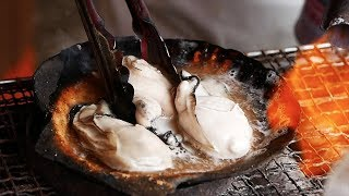 日本路邊小吃 - 北海道 牡蠣,螃蟹,羊肉,生魚片,火鍋,甜瓜