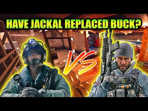 THE END OF BUCK? Jackal vs Buck after all buffs to Jackal, who will win? Rainbow Six Siege