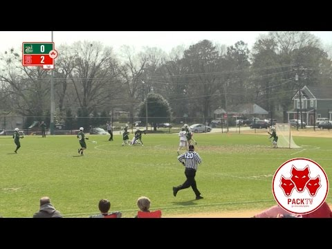 NC State Men's Lacrosse vs. Charlotte (March 18th, 2017)
