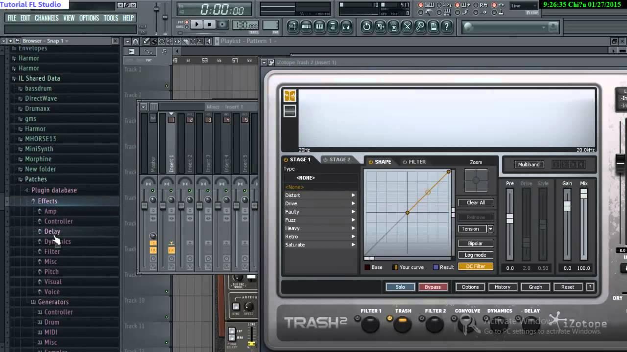 Cách Thêm VST vào Fl Studio: Plugin Picker #1