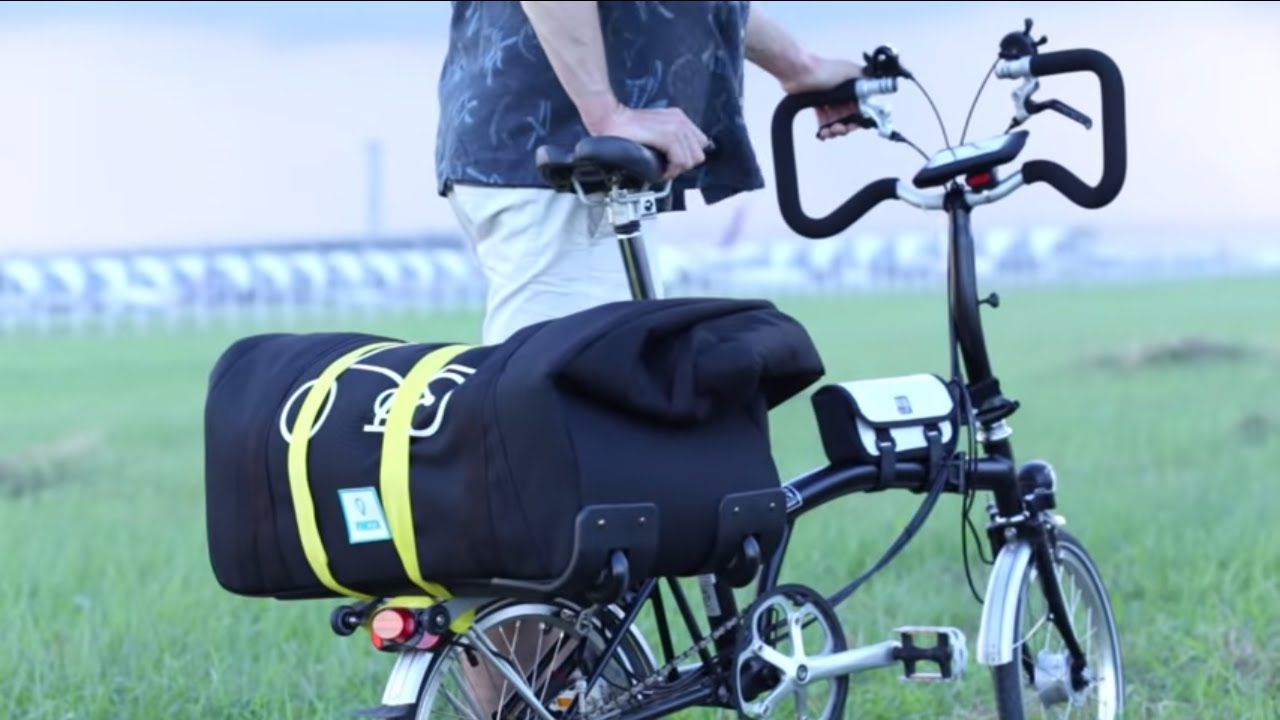 Packing Brompton For A Flight With Sightseer Foldable Soft Bag