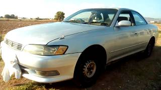 Toyota mark 2 1996 Engine And Rev