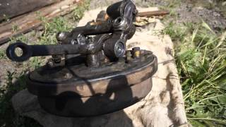 ГАЗ 2410 Замена шкворня и игольчатого подшипника подвески Волги.