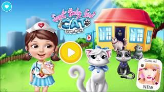 Играем в доктора | Милая малышка Приют для котят