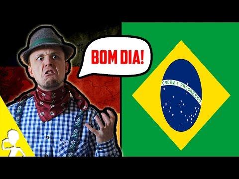 A German Attempting To Speak Brazilian Portuguese   Get Germanized