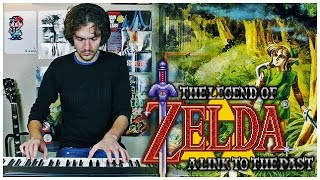 Zelda: ALttP - Lost Woods (piano cover)