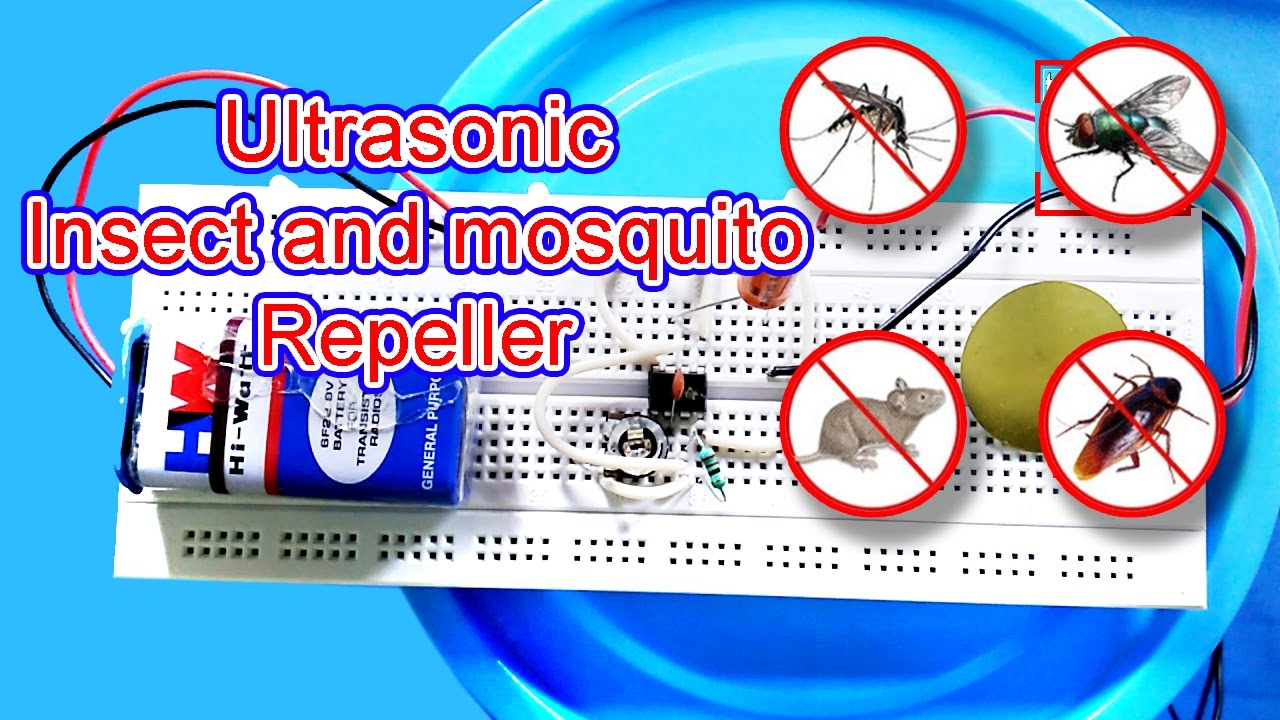 Mosquito Insect Repeller How To Make Youtube Dog Circuit You Can Find One On This Ultrasonic Repellent
