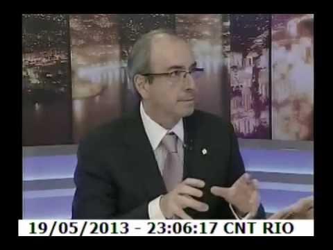 Jogo do Poder RJ com Eduardo Cunha, líder do PMDB na Câmara dos Deputados - 19.05.13 - Bloco 1/4