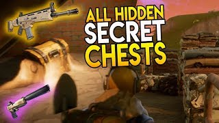 New Junk Junction ALL HIDDEN SECRET CHESTS LOCATIONS FOUND! (Fortnite Battle Royale Conseils et Astuces)