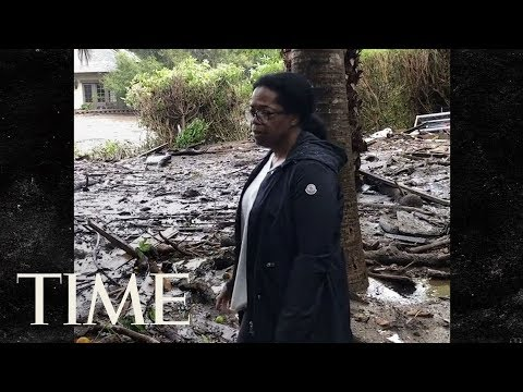 Oprah Shows Effect Of California Mudslides On Her Home: 'Praying For Our Community' | TIME