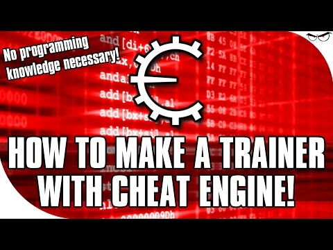 How to Make a Trainer with Cheat Engine [HuniePop Trainer Example]