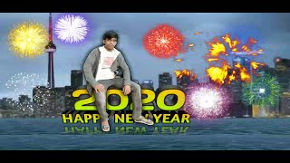 Happy new year 2020 tutorial