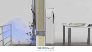 видео Проветриватель AEROPAC SN от немецкой компании SIEGENIA