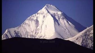 Top 10 des plus hauts sommets du monde