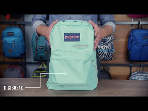 JanSport Pack Review - DigiBreak Laptop Backpack