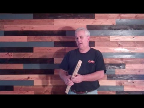 DIY Plank Wall On The Cheap