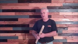 DIY Plank Wall On The Cheap