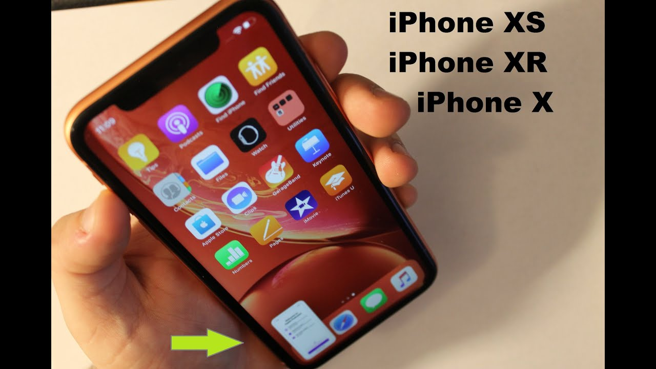 How to screenshot on iphone xr max