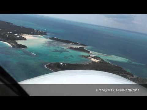 Approach to Landing at Scotland Cay Bahamas