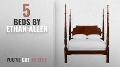 Top 10 Ethan Allen Beds [2018]: Ethan Allen Laurel Poster Bed, Queen, Belmont