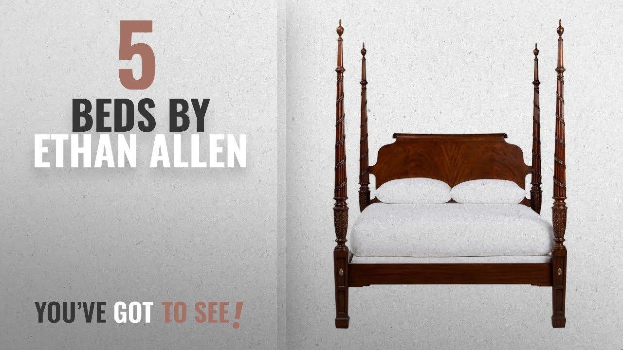 Top 10 Ethan Allen Beds [2018]: Ethan Allen Laurel Poster Bed, Queen ...