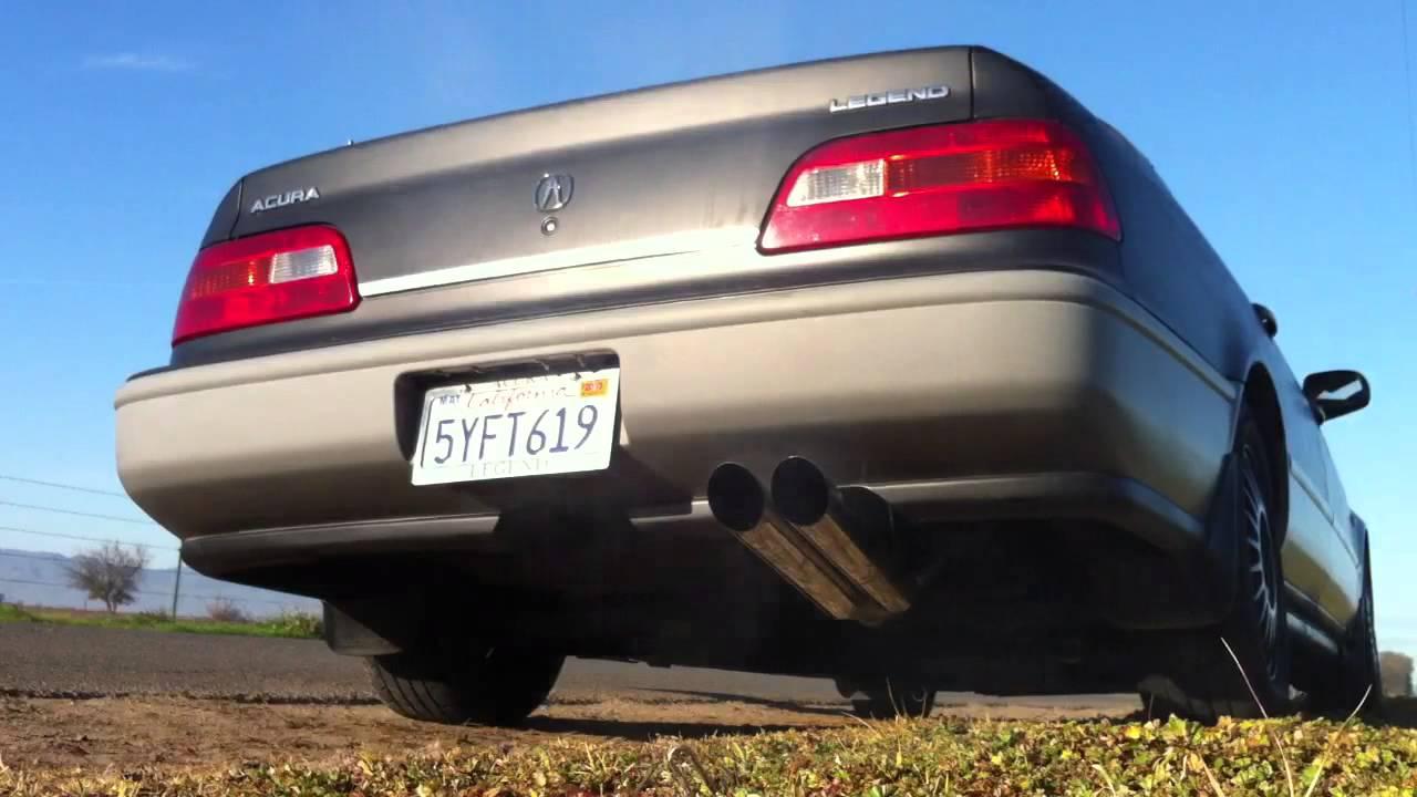 acura legend custom exhaust ka7 youtube [ 1280 x 720 Pixel ]