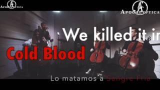 Apocalyptica Cold Blood Sub. Ingles/Español