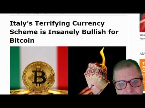 WILL ITALY TURN TO BITCOIN TO SAVE THEM