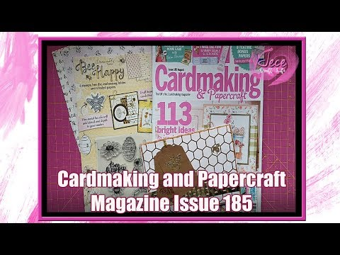 Cardmaking and Papercraft Magazine Issue 185 August Review