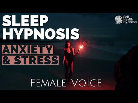 Self Hypnosis Sleep Female Voice ASMR | Deep Sleep Meditation Relaxation for Anxiety and Stress