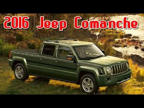 2016 Jeep Comanche >> 2016 Jeep Comanche Redesign Interior And Exterior Youtube