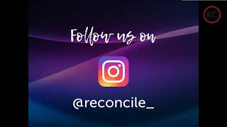 Reconcile Church is going live @ 10am!