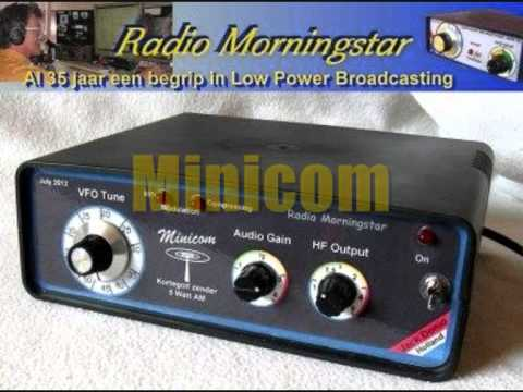 Commercial  for the Minicom AM Low Power - Broadcast Transmitter