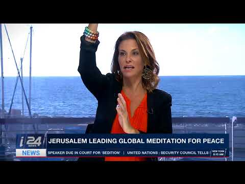 Jerusalem Global Meditation for Peace Amanda Ronson